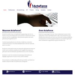 Website ActaForce