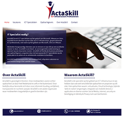 Website ActaSkill