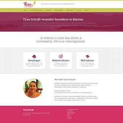 Website TirzaSchrijft