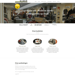 Website Weber Mannenmode